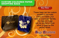 Bags Etcetera Paper Bags Manufacturing Custom Colored Bags